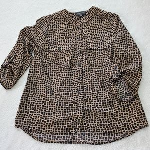 Elementz Button Down Blouse